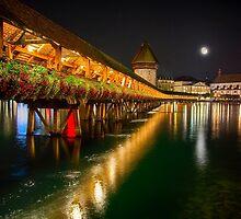 Flower Bridge by George Oze