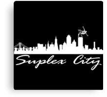 Suplex City Canvas Print