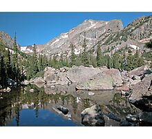 Hallet Peak Rocky Mountain National Park Photographic Print