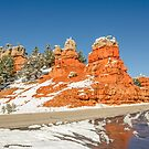 Entrance to Red Canyon on Highway 12 in Utah by Sue Smith