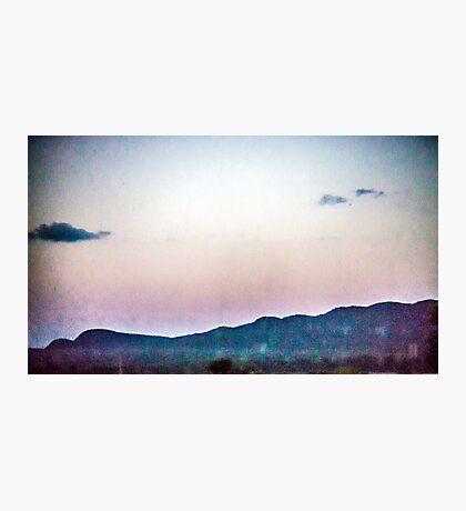 Static Sunset Photographic Print