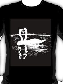 Black & White Swan T-Shirt