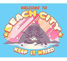 Welcome to Beach City Photographic Print