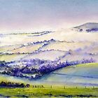 """Caburn "" Valley of the Mist by LorusMaver"