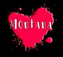 Montana Splash Heart Montana by Greenbaby