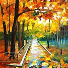 November Park 2 — Buy Now Link - www.etsy.com/listing/228104666 by Leonid  Afremov