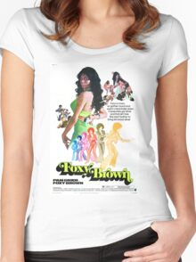 Foxy Brown Alt. (Green) Women's Fitted Scoop T-Shirt
