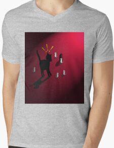 SneakAttack Mens V-Neck T-Shirt