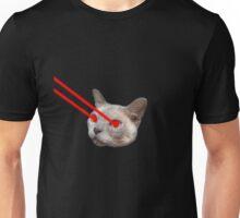 Laser Eyes Cat Unisex T-Shirt
