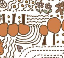 Ditsy Garden Sticker