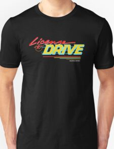Retro License to Drive Design by Nuance Art T-Shirt