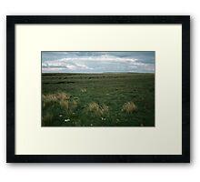Wadsworth Moor West Yorkshire England 19840603 0058m Framed Print