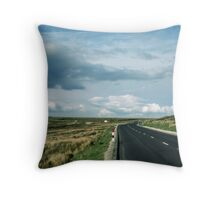 Road on Wadsworth Moor West Yorkshire England 19840603 0062m Throw Pillow