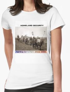 Homeland Security Womens Fitted T-Shirt