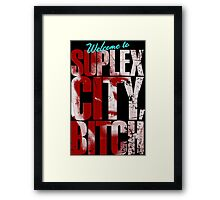 There's an F5 storm in suplex city.  Framed Print