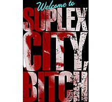 There's an F5 storm in suplex city.  Photographic Print