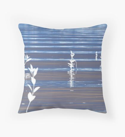 Inverted Mangroves Throw Pillow
