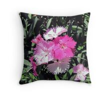 Precious in Pink Throw Pillow