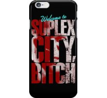 There's an F5 storm in suplex city.  iPhone Case/Skin