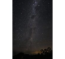 A Milky Way walk Photographic Print