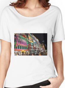 White Night In Melbourne Australia Women's Relaxed Fit T-Shirt