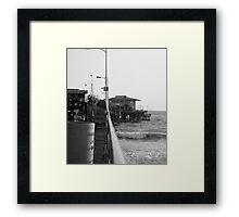 Santa Monica Pier  Framed Print