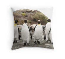 Penguins Six Throw Pillow