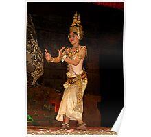 Classical Dancer, Siem Reap, Cambodia Poster