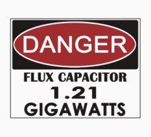 Flux Capacitor - 1.21 Gigawatts Warning One Piece - Long Sleeve