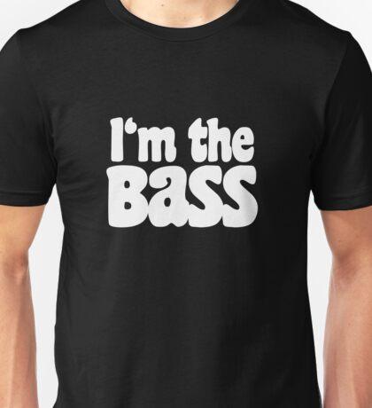 I'm the BaSS (White) Unisex T-Shirt