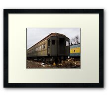 Old Rusted Train Framed Print
