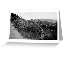 Hollywood Hills Greeting Card