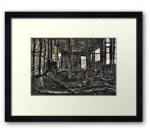 the old bulli brickyard Framed Print