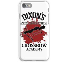 DIXON'S POST-APOCALYPTIC CROSSBOW ACADEMY iPhone Case/Skin