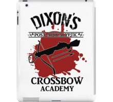 DIXON'S POST-APOCALYPTIC CROSSBOW ACADEMY iPad Case/Skin