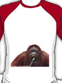 Orangutan Oral Hygiene 02 T-Shirt