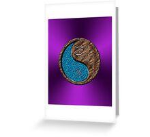Cancer & Boar Yin Earth Greeting Card