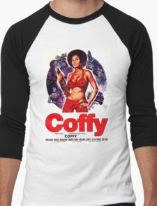 Coffy Alt. (Red) Men's Baseball ¾ T-Shirt