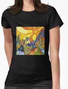 The Dream Colorful Psychedelic Folk Art T-Shirt