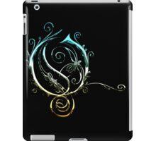 LATTICE LETTER O - california chrome iPad Case/Skin