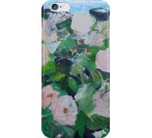 Rose hedge iPhone Case/Skin