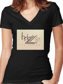 Hdizzy #2 Women's Fitted V-Neck T-Shirt