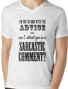Sarcastic Comment Mens V-Neck T-Shirt