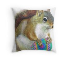 The Easter Nut Throw Pillow
