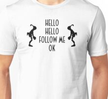Abe's Hello (Black Design) Unisex T-Shirt