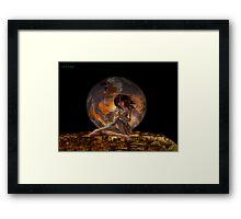 Demon of the Underworld Framed Print