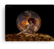 Demon of the Underworld Canvas Print