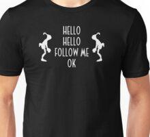 Abe's Hello (White Design) Unisex T-Shirt