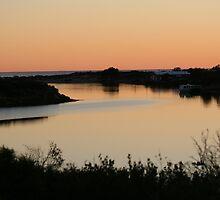 Greenough River Sunset by Kim Jackson