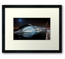 Life in space... Framed Print